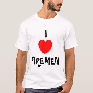 I LOVE FIREMEN T-Shirt