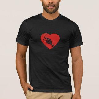 I Love Fishing (Heart Fishing) T-Shirt