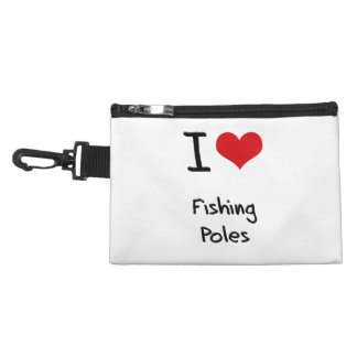 I Love Fishing Poles Accessory Bag