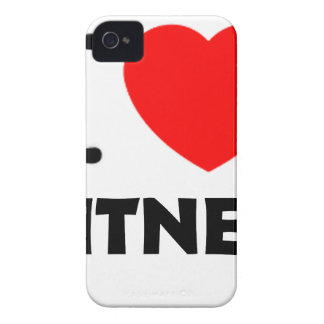 I Love Fitness Case-Mate iPhone 4 Case