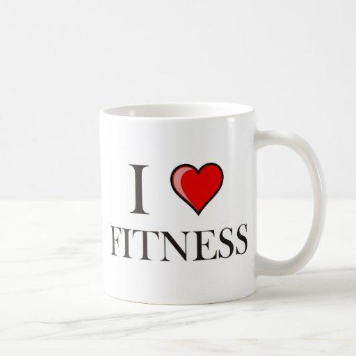 I love fitness coffee mugs