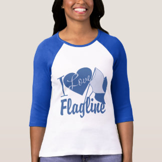 I Love Flagline T-Shirt