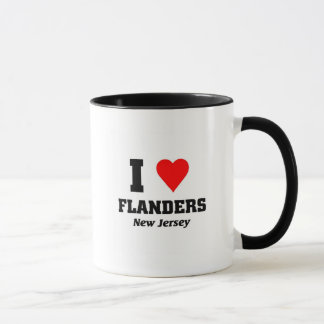 I love Flanders, New Jersey Mug
