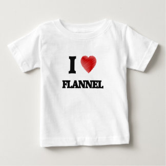 I love Flannel Baby T-Shirt