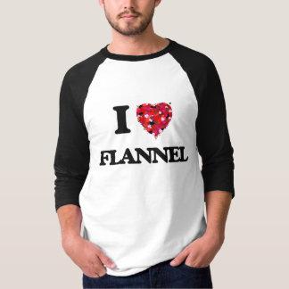 I Love Flannel T-Shirt
