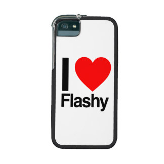 i love flashy iPhone 5 cover
