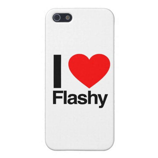 i love flashy iPhone 5/5S cases