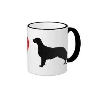 I Love Flat Coated Retrievers Coffee Mug