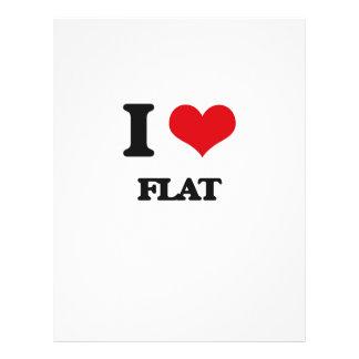 i LOVE fLAT Custom Flyer