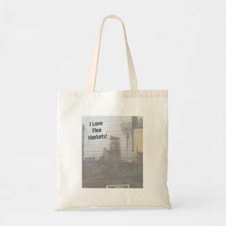 """I Love Flea Markets!"" Tote"