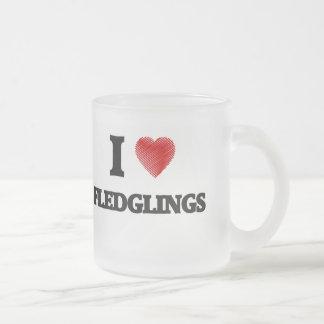 I love Fledglings Frosted Glass Coffee Mug