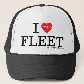 I Love Fleet Trucker Hat