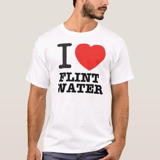 I Love Flint Water T-Shirt