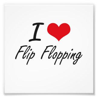I love Flip Flopping Photo Art