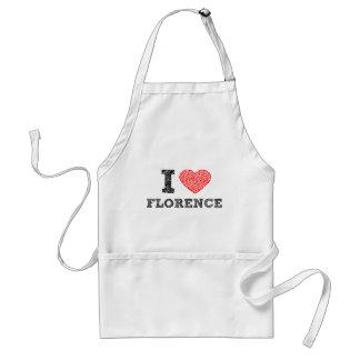 I Love Florence Standard Apron