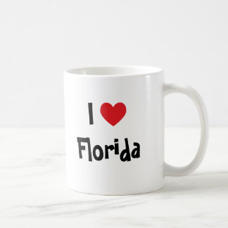 I Love Florida Coffee Mug