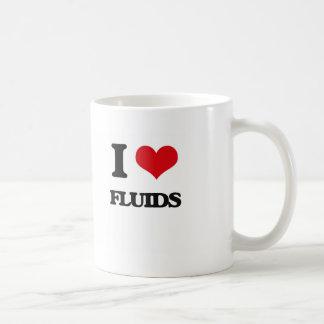 i LOVE fLUIDS Coffee Mugs