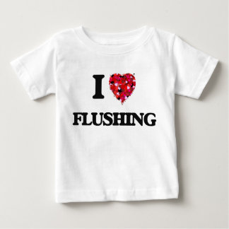 I Love Flushing T-shirts