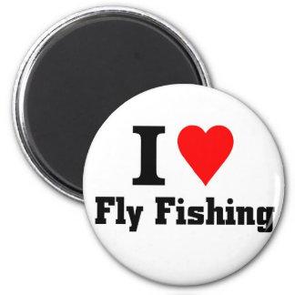 I love fly fishing magnet