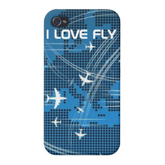 I LOVE FLY iPhone 4/4S CASE