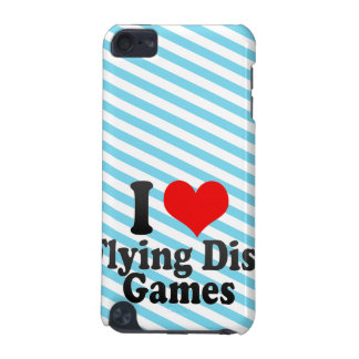 I love Flying Disc Games iPod Touch (5th Generation) Cases