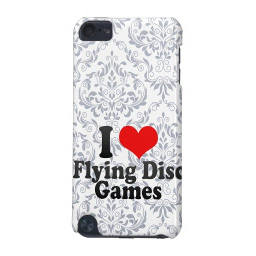 I love Flying Disc Games iPod Touch (5th Generation) Cover