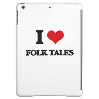 i LOVE fOLK tALES iPad Air Covers