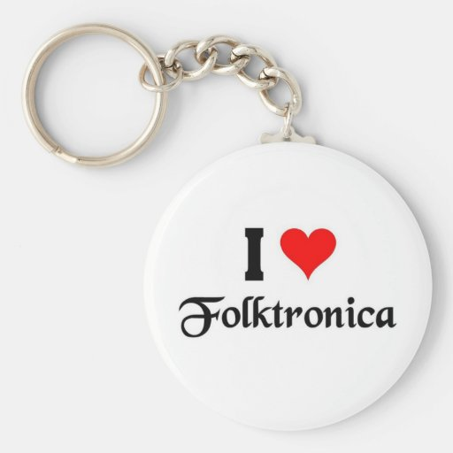 I love folktronica keychains