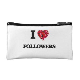 I Love Followers Cosmetic Bag