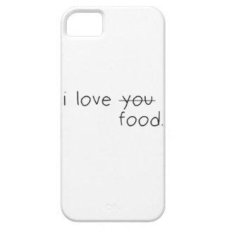 I Love Food phone case