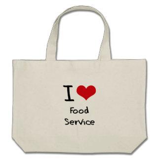 I Love Food Service Bags