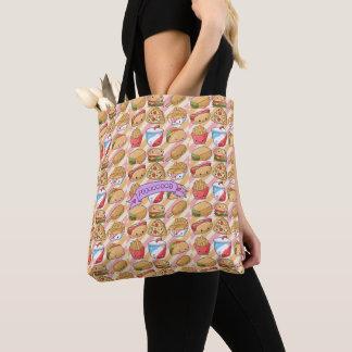I Love Food Tote Bag