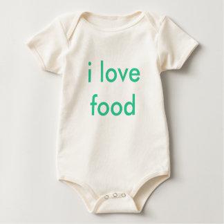 i love food rompers
