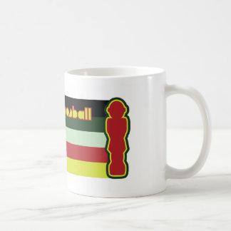 I love foosball basic white mug