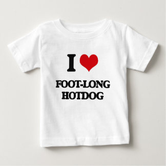 I love Foot-Long Hotdog Tshirts