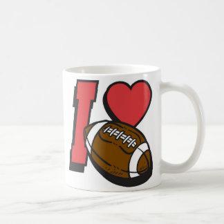 I LOVE FOOTBALL 1 COFFEE MUG