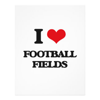 i LOVE fOOTBALL fIELDS Flyer