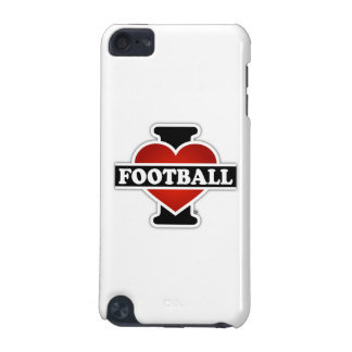 I Love Football iPod Touch 5G Cases