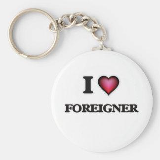 I love Foreigner Key Ring