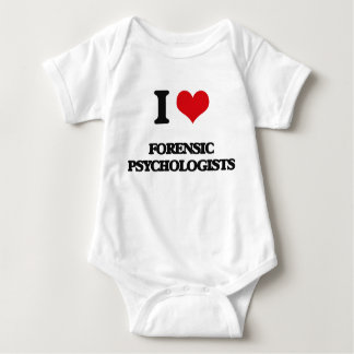 I love Forensic Psychologists Baby Bodysuit