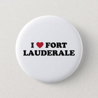 I Love Fort Lauderdale Florida 6 Cm Round Badge