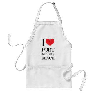 I Love Fort Myers Beach Apron