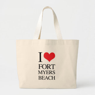 I Love Fort Myers Beach Bags
