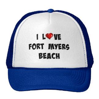 I Love Fort Myers Beach Cap