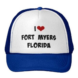 I Love Fort Myers, Florida Cap