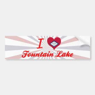 I Love Fountain Lake, Arkansas Bumper Stickers
