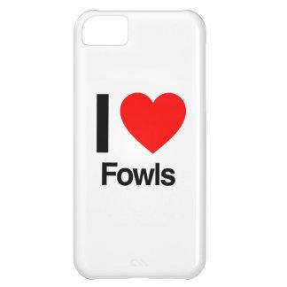 i love fowls iPhone 5C case