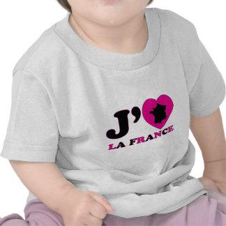 I Love France T-shirts