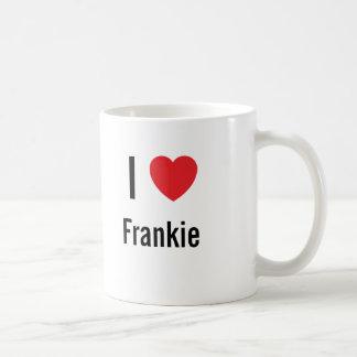 I love Frankie Coffee Mug