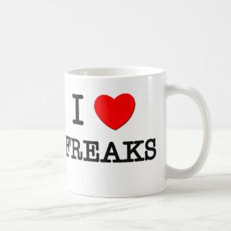 I Love Freaks Coffee Mug